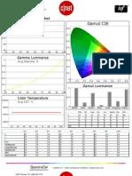 TCL L40FHDF12TA calibration report