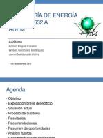Presentacion Auditoria Energetica 632-A
