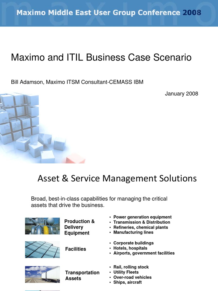 Day 2 itsm maximo itil business case study by bill adamson day 2 itsm maximo itil business case study by bill adamson itil service level agreement accmission Image collections