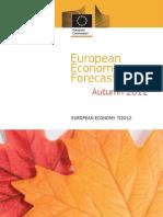 European Economic Forecast - Nov2012