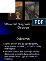 Psychres Differential Diagnosis of Anxiety Disorders