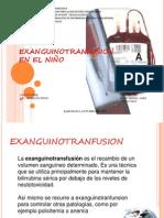 EXANGUINOTRANFUSION exposicion