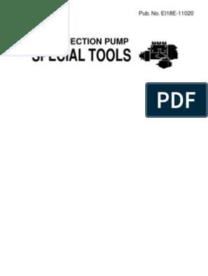 Tool Catalog Ei18e-11020 | Pump | Screw