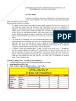 Evaluación de alumnos con Calc Hoja de cálculo Curso Ofimática OpenOffice.Org Tutoriales Academia Usero