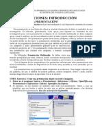 Presentación simple de 4 páginas Presentaciones Impress Curso Ofimática Academia Usero