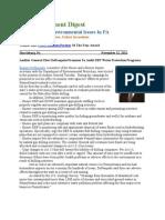 PA Environment Digest Nov. 12, 2012
