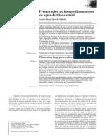 Preservación de hongos filamentosos