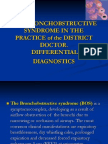 bronchoobstrustive syndrome