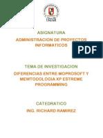 diferenciaentremetodologaxpextremeprogrammingyestilomoprosoft-100728205244-phpapp02