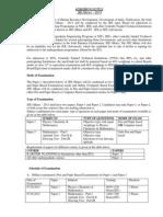 Admission Notice (JEE Main) 2013_2012