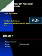 Sejarah, Fungsi, Dan Kedudukan Bahasa Indonesia_Baru