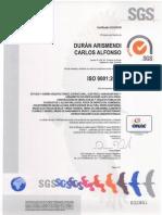 Sgs Certificacion