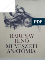 Barcsay Jenő-Művészeti anatómia . Art anatomy from Jenő Barcsay