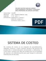 Sistema de Costos por Órdenes Específicas