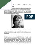 Prediksi Pendiri Microsoft Di Tahun 1987 Yang Kini Menjadi Kenyataan