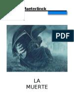 Maeterlinck, Maurice - La Muerte