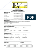 VADEA 2013 Membership Form