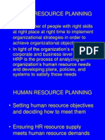 Human Resourse Planning
