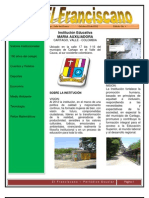Periódico Escolar El Franciscano