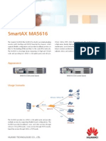 Huawei SmartAX MA5616 Brief Product Brochure(09-Feb-2012)