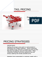 Pricing Strategies635