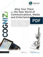 Finding Your Place in the New World of Communications, Media and Entertainment