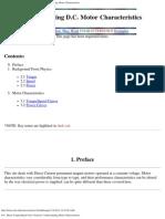 D.C. Motor Torque_Speed Curve Tutorial_Understanding Motor Characteristics