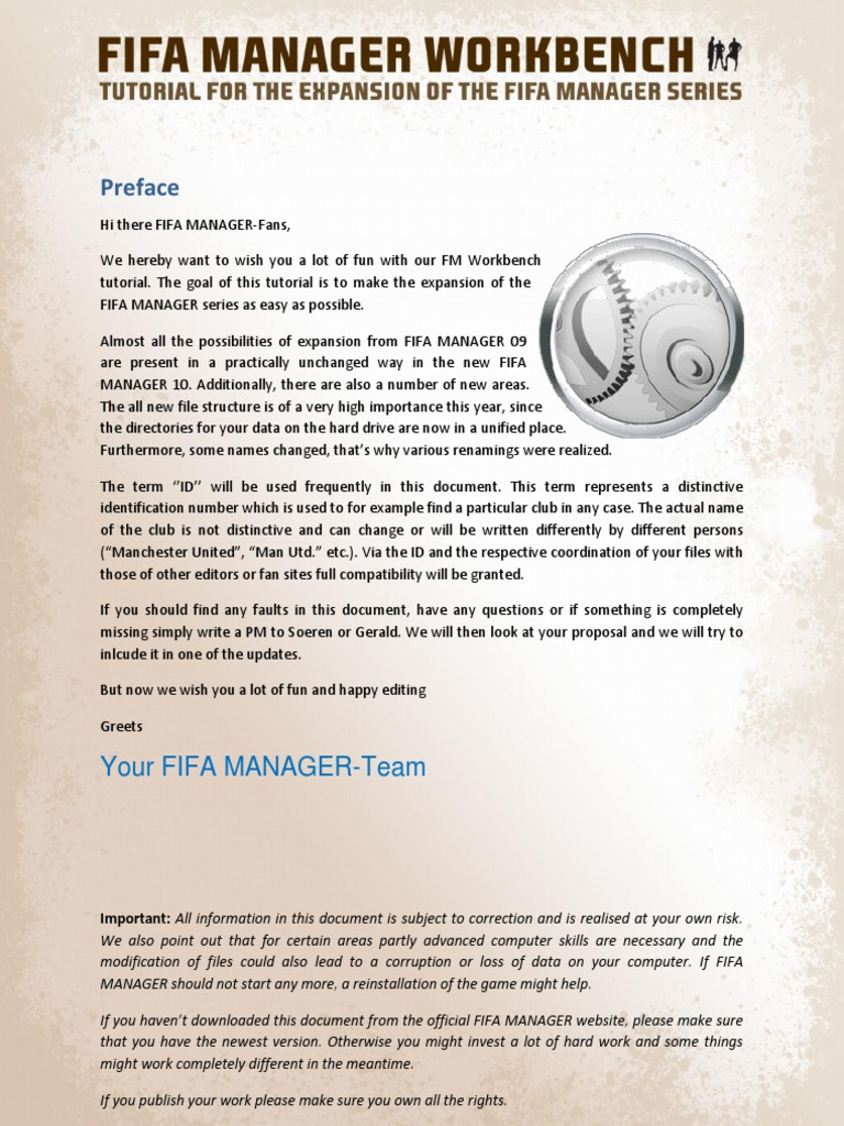 fifa manager workbench v11pdf text file icon computing