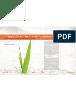 Interacción entre microorganismos; estructura del suelo y nutrición vegetal