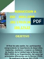 Introduccion a ISO9000 y ISO17025