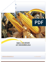 DAILY AGRI REPORT BY EPIC RESEARCH- 10 NOVEMBER 2012