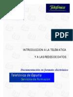 Introduccion a La Telematica y a Las Redes de Datos