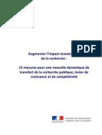 DP-15 Mesures Pour Le Transfert de La Recherche 232052
