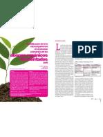 Cuantificación de tres microorganismos en el proceso y dinámica de  los abonos orgánicos fermentados (aof)