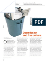 Open Design and Free Culture