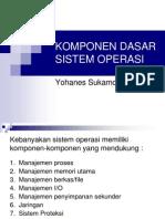 Komponen Dasar Sistem Operasi