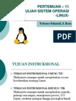 Kuliah Sistem Operasi Linux