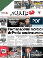 Periodico Norte de Ciudad Juárez 10 de Noviembre de 2012