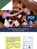 Developing IT Strategy - People Technology Process