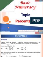 Basic Numeracy Percentage