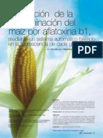 Verificación de la contaminación del maíz por flatoxina B1