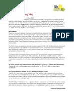 SAT/ACT/PSAT/AP/IB Standardized Testing FAQ