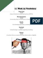 Semester 2 - Week 13