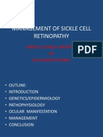Management of Sickle Cell Retinopathy