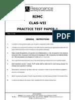 Practice Test Paper-1_VII