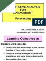 QA Forecasting