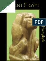 ANCIENT EGYPTHieroglyph