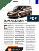 RENAULT GRANDE SCÉNIC 1.6 dCi NA ANECRA REVISTA