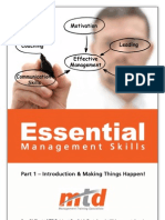 Essential Management Skills -- Part 1
