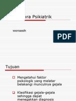 WAWANCARA PSIKIATRIK